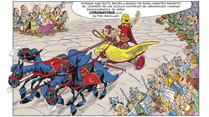 A todo trapo contra el César