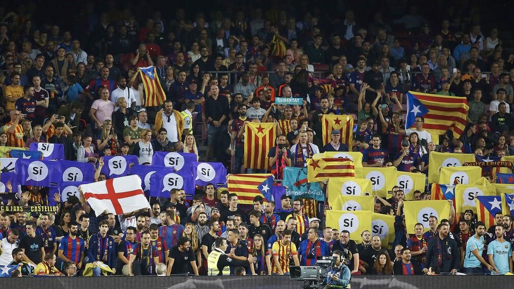Las imágenes del Barcelona-Málaga