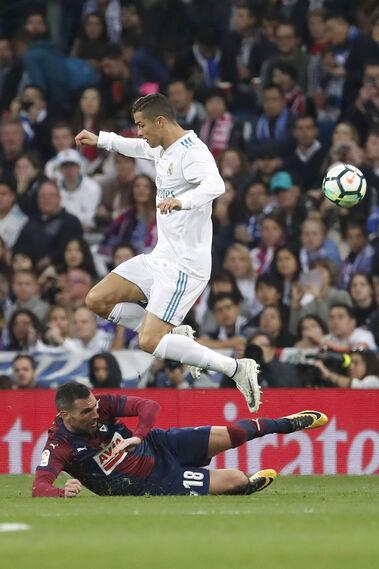 Las imágenes del Real Madrid-Eibar