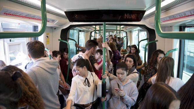 La posibilidad de viajar con bicicleta o mascota dentro de transportín gusta a los usuarios del servicio.