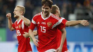 La galería del amistoso Rusia-España