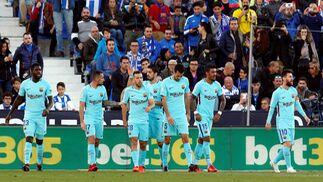 Las imágenes del Leganés-Barcelona