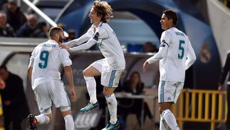 Las imágenes del Apoel-Real Madrid