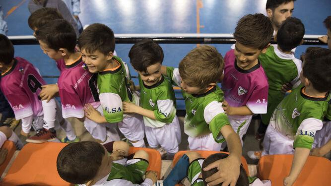 El Futsalhendín presume de cantera con la presentación de sus equipos