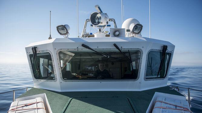 Una patrulla al servicio del mar