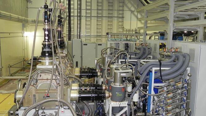 Granada se pone a los mandos del acelerador de partículas