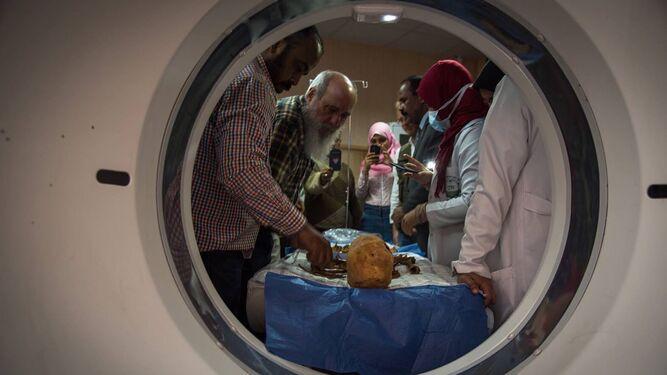 Las imágenes se obtuvieron en el hospital universitario de Asuán (Egipto) y también han colaborado en Granada el servicio de Radiodiagnóstico del hospital del PTS.