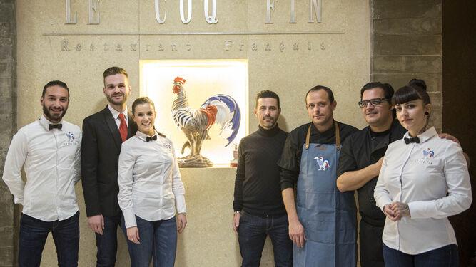 El restaurante, que abrió ayer sus puertas, nace de la iniciativa de tres socios franceses