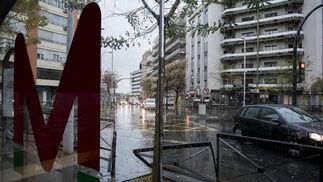 Las imágenes del efecto de la ciclogénesis en Granada.
