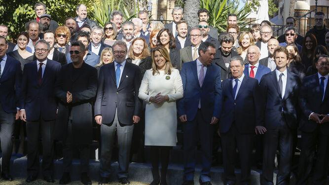 Dolores Montoya, 'la Chispa', José Mercé y Alejandro Sanz.