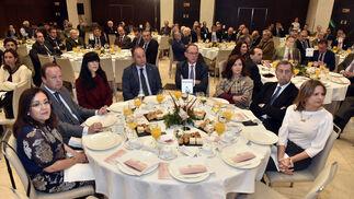 Catalina Madueño, Jesús Huertas, Belén Gualda, Ignacio Martín, Felipe Granados, Carmen Martín, Manuel Gracia y Ana Cobo.