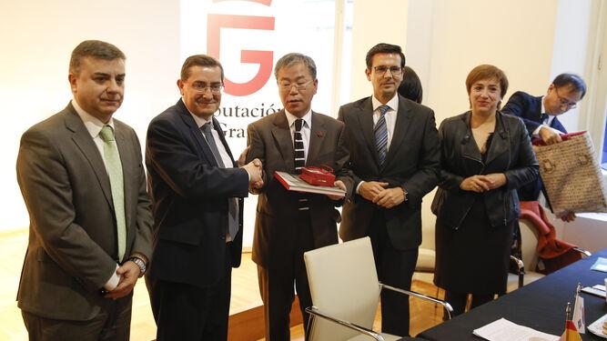 Granada y Corea del Sur estrechan lazos.