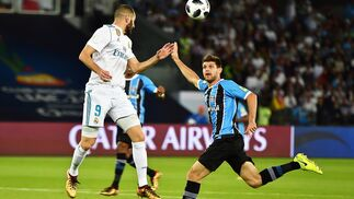 El Real Madrid-Gremio, en imágenes