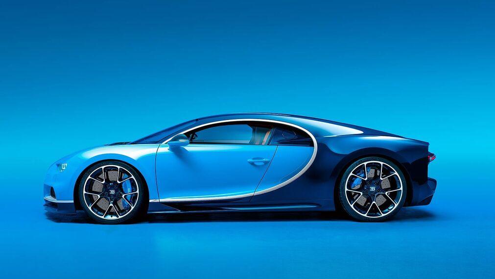 Así es el Bugatti Chiron, el coche de Cristiano Ronaldo