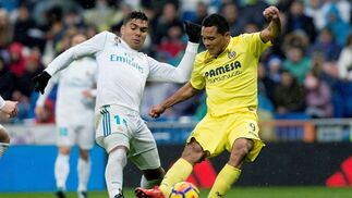 Las imágenes del Real Madrid-Villarreal