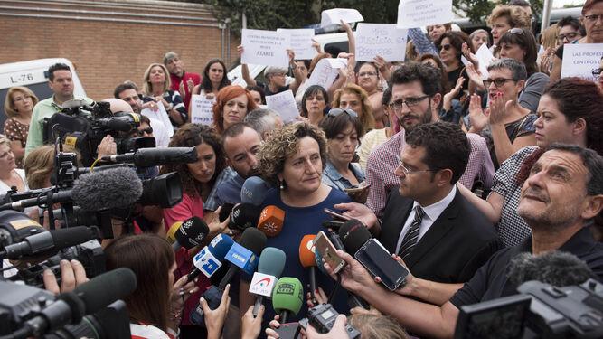 """Francisca Granados critica que existe """"falta de contexto"""" en el caso."""
