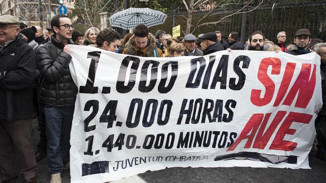 24.000 horas sin trenes en Granada.