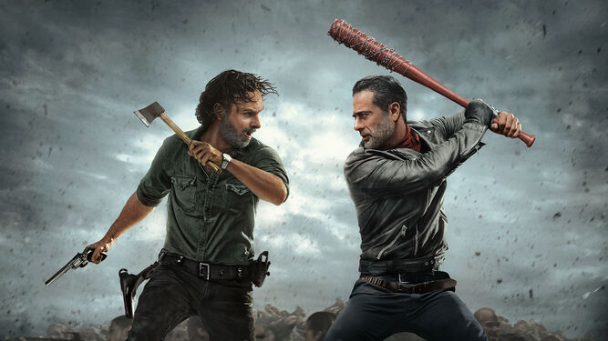 'The walking dead', la serie favorita de los visionados individuales en Netflix.