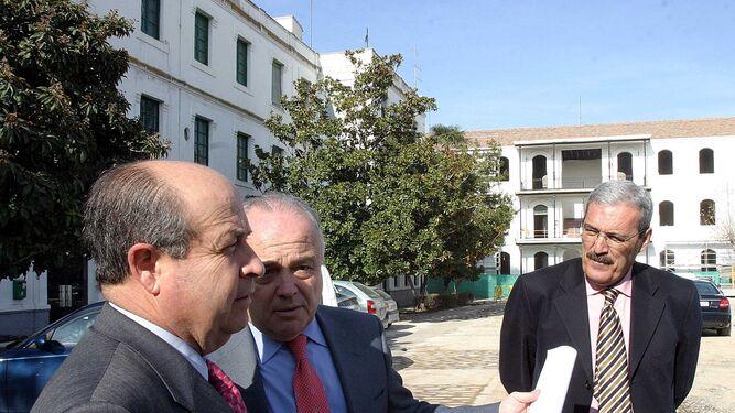 Torres Hurtado, García-Royo y Lorente, en el primer mandato de gobierno.