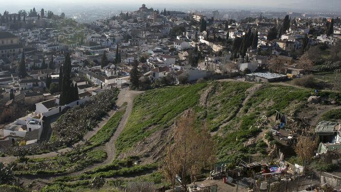 Las vistas desde San Miguel Alto son espectaculares.