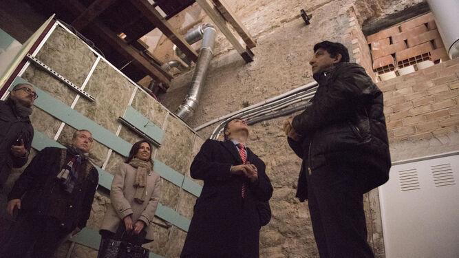 La actuación se centrará en el edificio que alberga el zaguán.