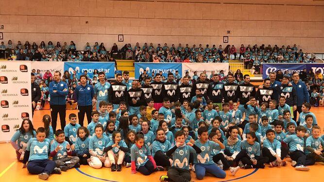 Los niños de Peligros disfrutan del 'futsal'Marín se despide de Asia tal como llegóUna bandera, signo del espíritu olímpico