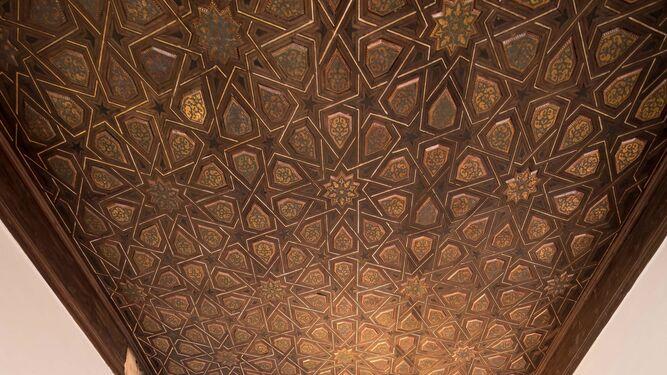 Vista del vestíbulo del Alcázar.