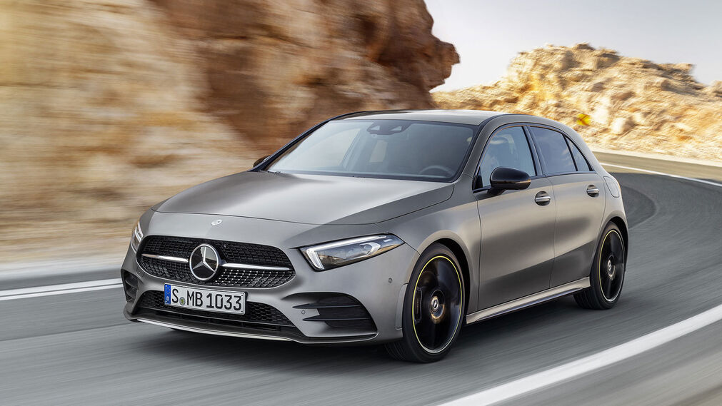 Todas las fotos del Mercedes-Benz Clase A de 2018