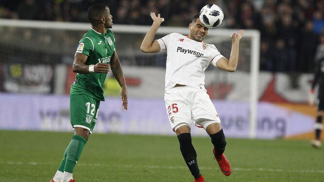 La semifinal de Copa entre Sevilla FC y CD Leganés, en imágenes