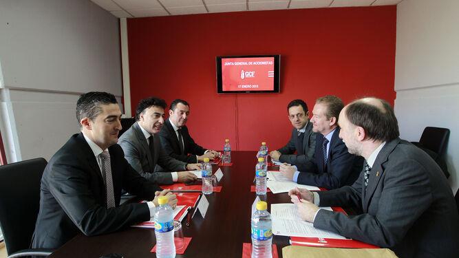 Pina presidió la junta general de accionistas del Granada CF durante más de un lustro.