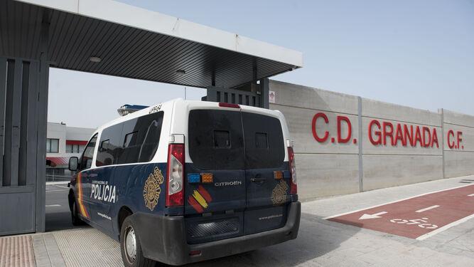 La Policía Nacional registró las sedes del Granada CF el pasado 31 de enero, el mismo día que fue detenido su expresidente Quique Pina en Murcia.