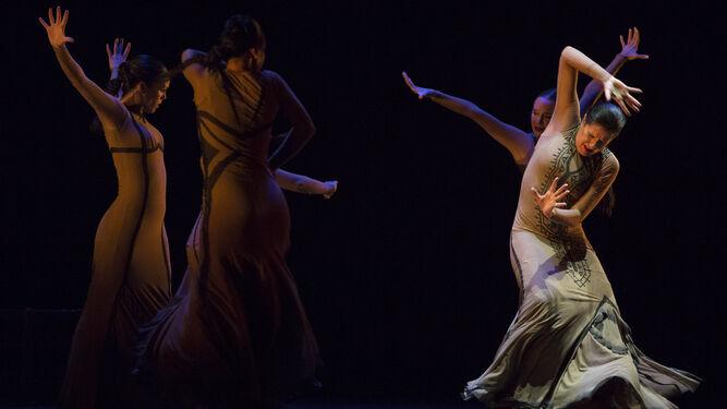 María Pagés, en una escena de su espectáculo 'Yo, Carmen'.