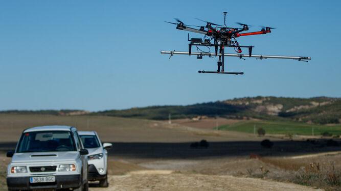 Uno de los drones del programa.