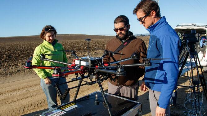 Los drones permitirá optimizar tareas de posicionamiento de especies como la cabra montés o el águila imperial.