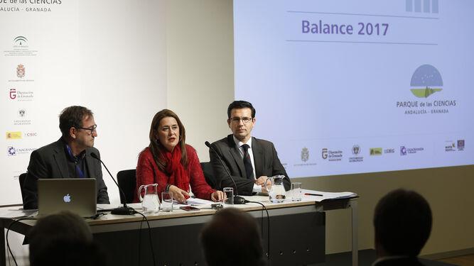 Ernesto Páramo, Sonia Gaya y Francisco Cuenca.