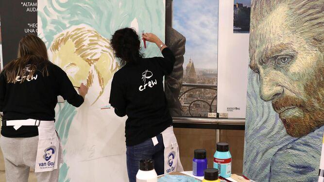 El filme está compuesto por más de 60.000 fotogramas pintados a mano por artistas de todo el mundo.