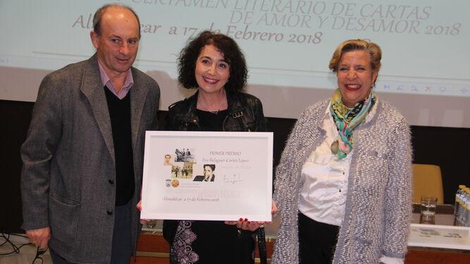 Eva Balaguer, la ganadora.