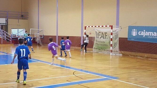 Granada gana el Andaluz benjamín de fútbol sala