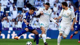 Las imágenes del Real Madrid-Alavés