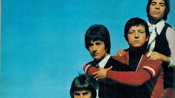 Foto promocional de uno de sus discos.