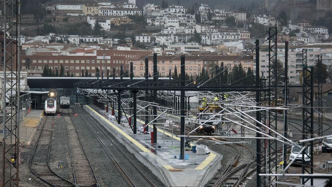 La nueva estación está casi terminada.