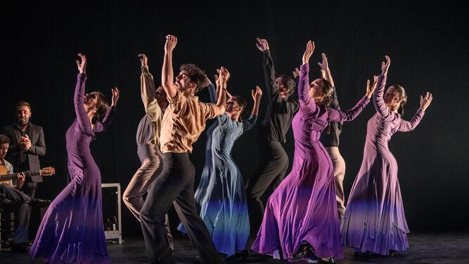 'Flamenco, tradición, vanguardia', primer fruto del Proyecto Cantera, se podrá ver el próximo 4 de marzo en el Festival de Jerez.