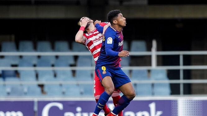 Hasta el sábado pasado en Lugo, la última derrota del Granada fue la peor de la temporada: 3-0 ante el Barça B.