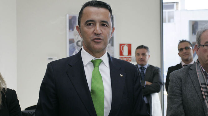 Dimas Rodríguez, exdirector general de Caja Rural.