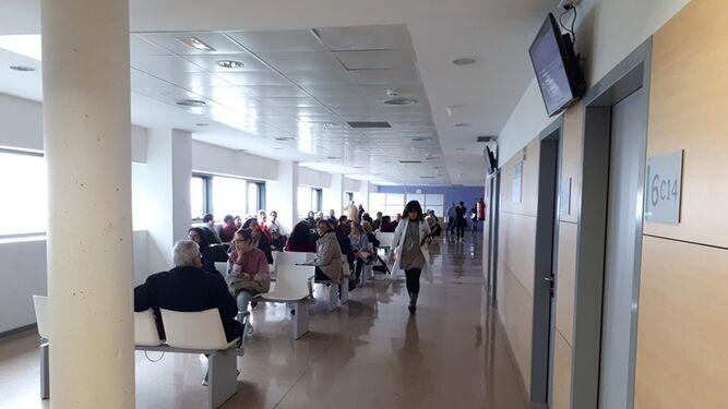 Sala de espera de las consultas de Ginecología en el PTS