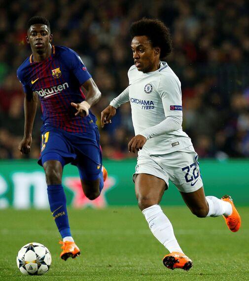 Las imágenes del Barcelona-Chelsea