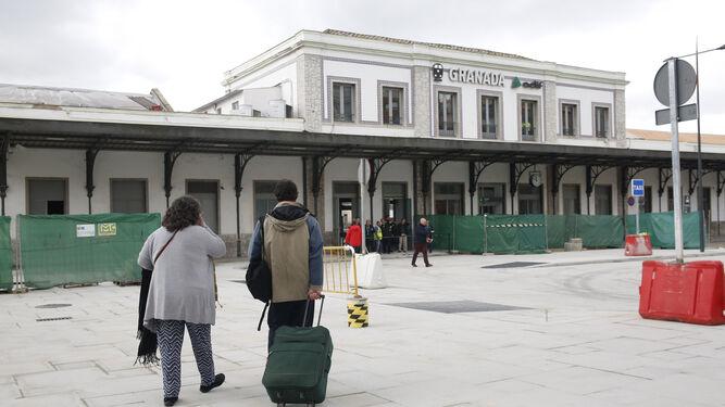Las obras en la explanada de Andaluces están prácticamente terminadas.
