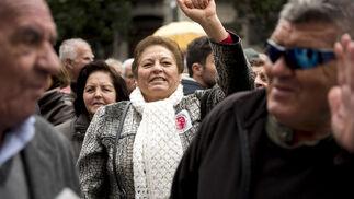 Manifestación por las pensiones pública en Granada