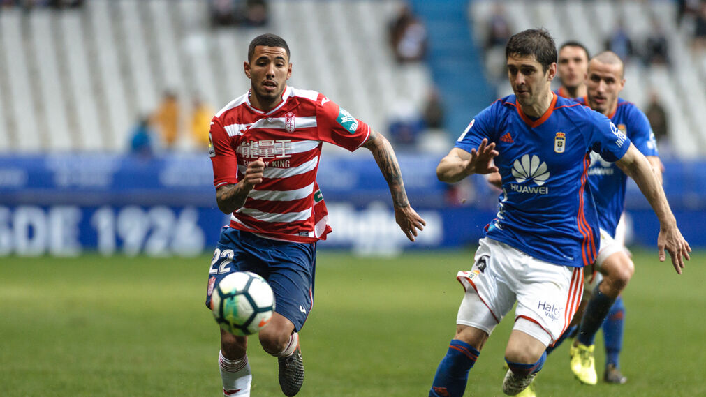 Las imágenes del Real Oviedo-Granada