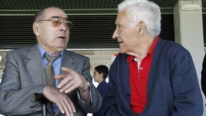 Pahiño con Arsenio Iglesias.
